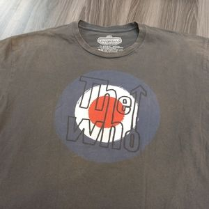 Winterland Shirts - THE WHO T-SHIRT - Classic Rock Music Rock Band Tee
